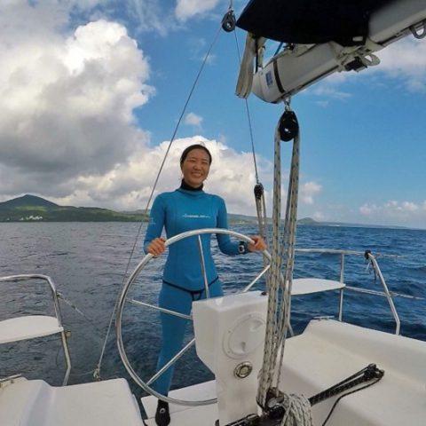 台灣賞鯨業首位女船長 海下所邱百合:人生沒有白走的路