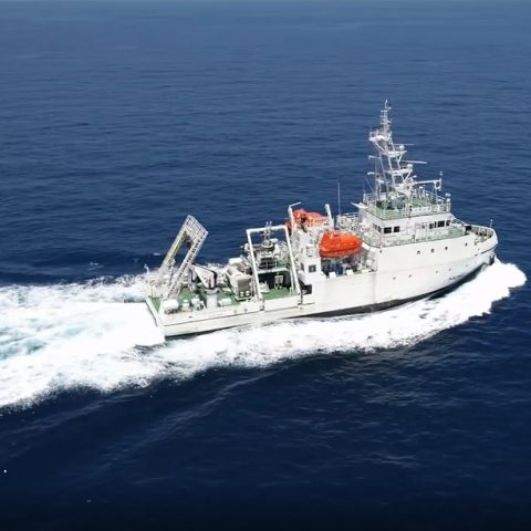 The first scientific voyage of R/V New Ocean Researcher 3 (NOR-3) with five state-of-the-art instruments to explore the ocean
