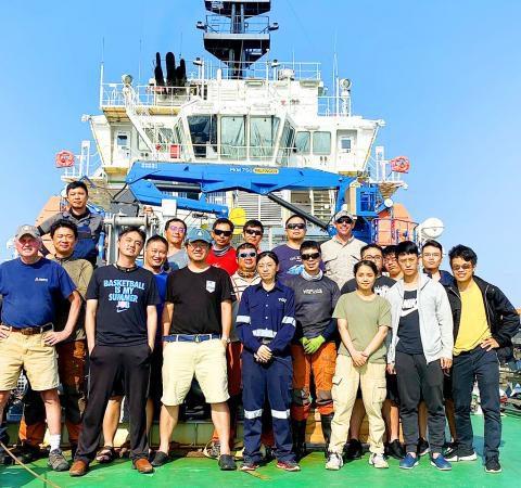 Taipei Times》 Taiwan-US team finish underwater survey