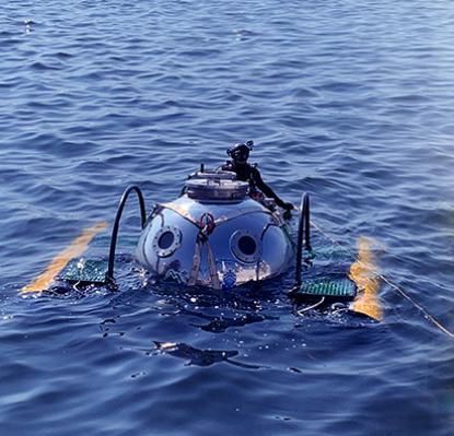 影音》首度實海測試成功! 中山大學MIT小型潛艇下水